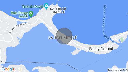 Nouveau ! sur la Plage, Piscines, Magnifique 3 Chambres 3 Sdb, Rénové, vue mer Map