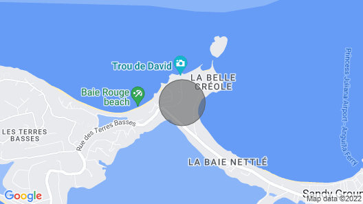Bahia Blue at Baie Rouge Beach - 3 or 4 Bedrooms Map