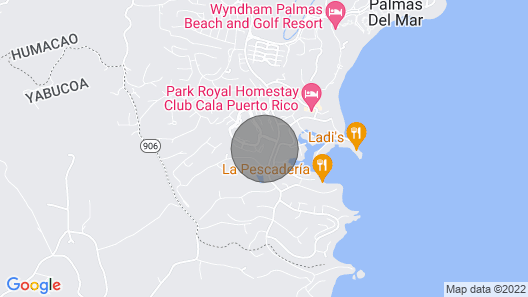 Villa Las Palmas Private Rooftop Lake Views Penthouse Map