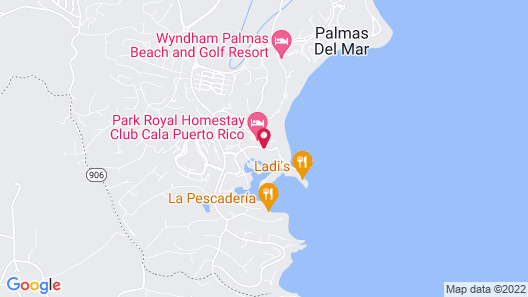 The Plaza Suites Map