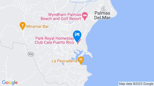 Park Royal Homestay Club Cala Puerto Rico Map