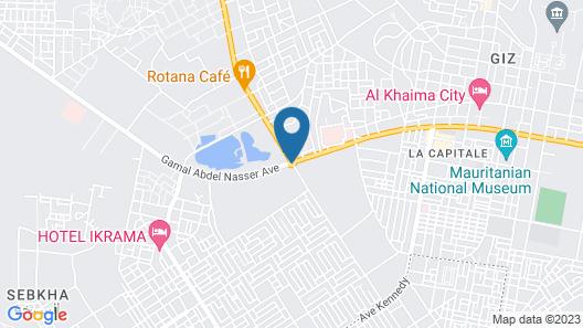 Residence Leilani Map