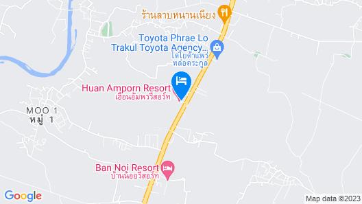 Huen Aumpron Resort Map