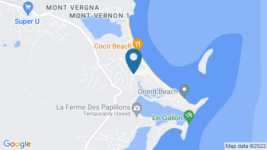Palm Court at Orient Beach Map