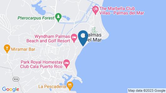 Wyndham Candelero Beach Resort Map