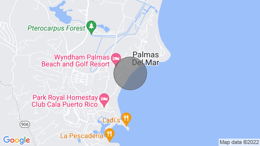 Beachfront Modern Oasis Map