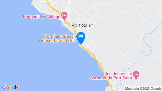 Auberge du Rayon Vert Map