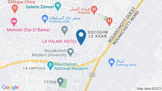 La Palma hôtel Map
