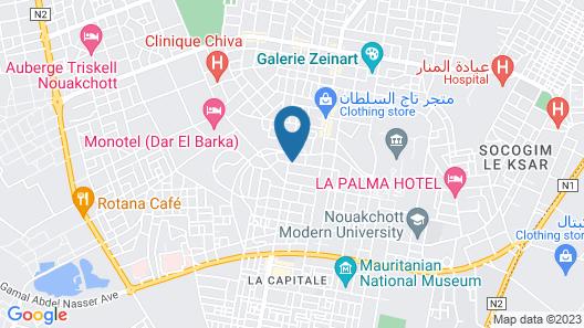 Semiramis Hotel Map