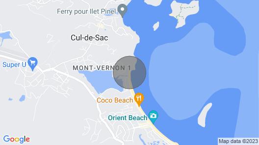 Orient Beach Oceanfront Mount Vernon Studio 2 Map