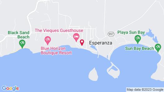 Esperanza Inn Map