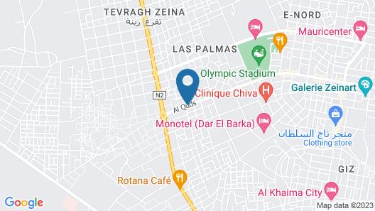 Le Sidi Map