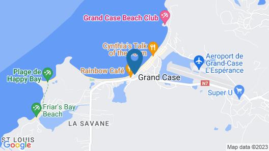 Bleu Emeraude Hotel Map