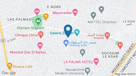 Hotel Tfeila Map