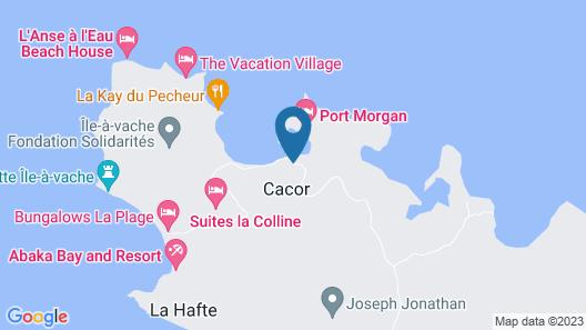 Hotel Port-Morgan Map