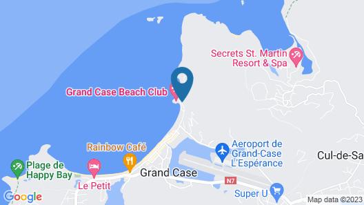 Grand Case Beach Club Map