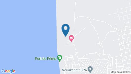 Terjit Vacances Map