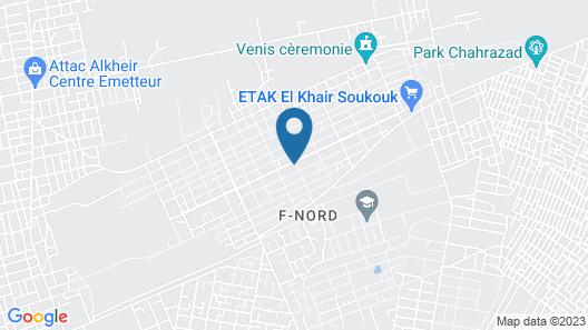 Hôtel Flora Map