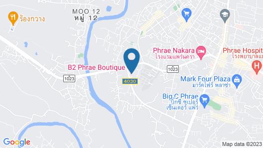 B2 Phrae Boutique & Budget Hotel Map