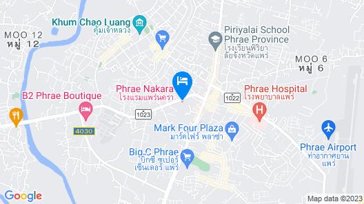 Phrae Nakara Hotel Map