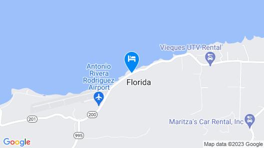 La Cuadra Guest House Map