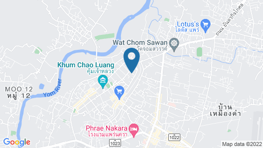 Hug Inn Phrae Map