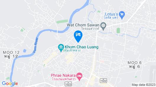 Hug Inn Phrae Map