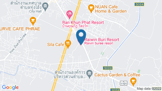 Raiwin Buri Resort Map