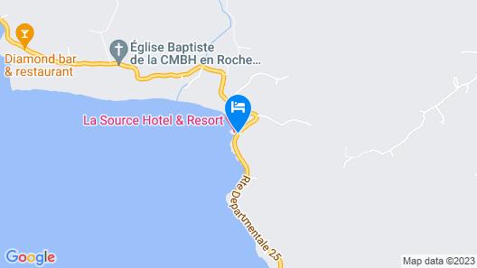 La Source Hotel & Resort Map