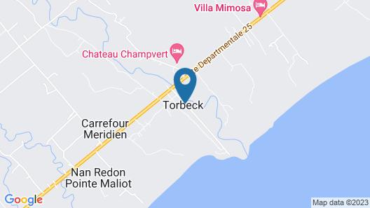 Chateau Champvert Map
