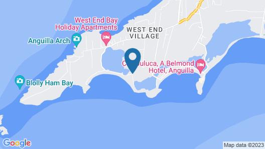 Altamer Resort Map