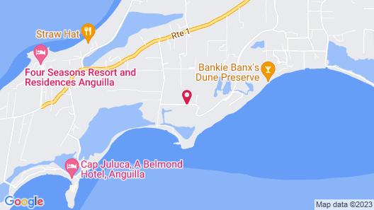 Paradise Cove Resort Map