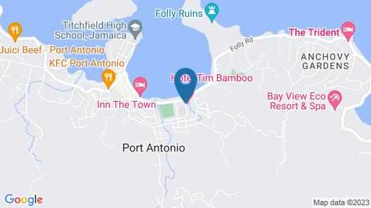 Hotel Tim Bamboo Map
