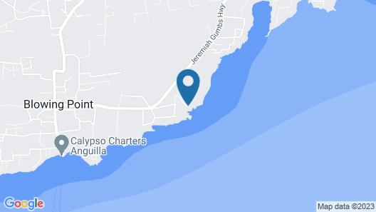 Solaire Villas Anguilla Map