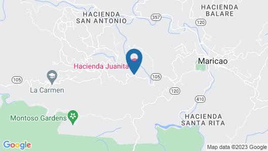 Hacienda Juanita Map
