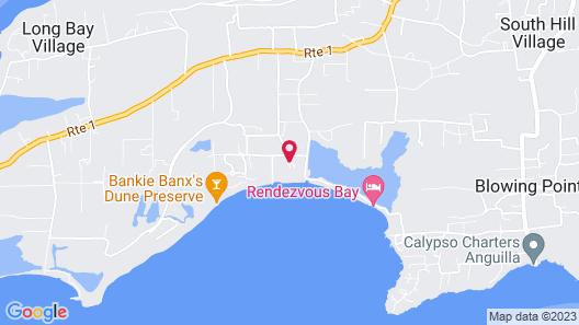 Anguilla Great House Beach Resort Map