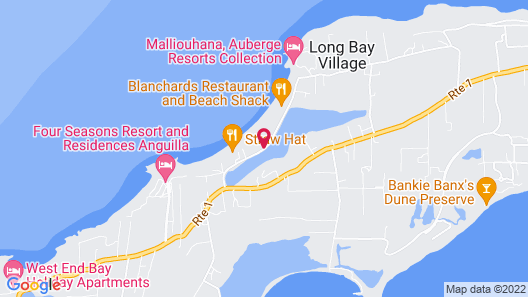Four Seasons Resort and Residence Anguilla Map