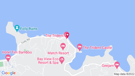 The Trident Hotel Map