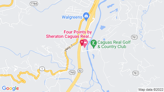 Four Points by Sheraton Caguas Real Hotel & Casino Map