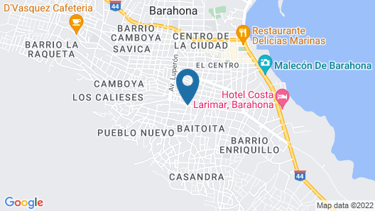 Hotel Yamir Map