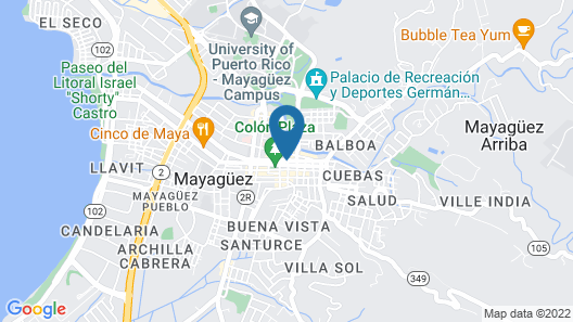Mayaguez Plaza Hotel, SureStay Collection by Best Western Map