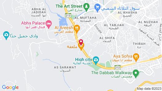 AlMuhaidb Residence Abha Map