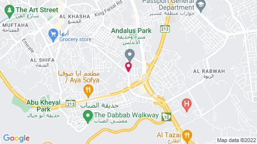 OYO 324 Green House Hotel Abha Map