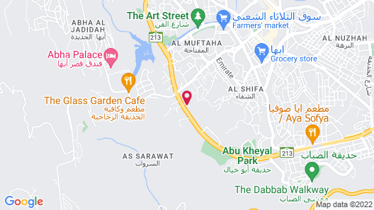 Etab Hotel Abha Map