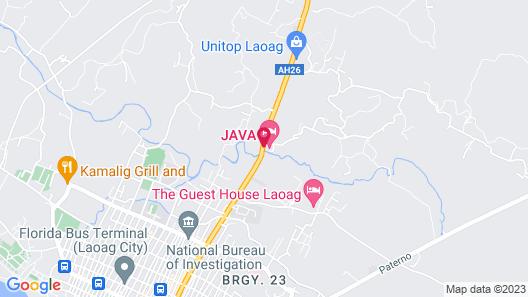 Java Hotel Map