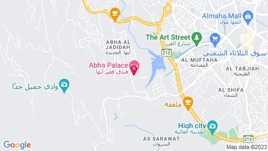Abha Palace Map