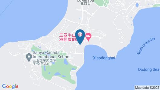 Anantara Resort & Spa Map