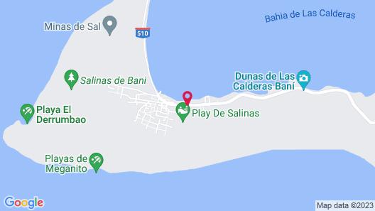 Hotel Salinas Map