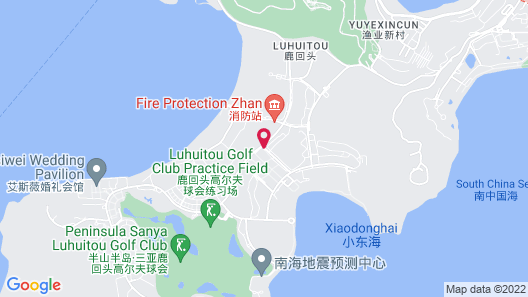 InterContinental Sanya Resort Map