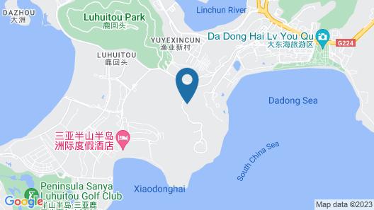 JW Marriott Hotel Sanya Dadonghai Bay Map